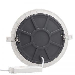 luz del panel led 18W PC aluminio precio de fábrica 18 vatios 100lm/w empotrable downlight incrustado lámpara de superficie con smd4014