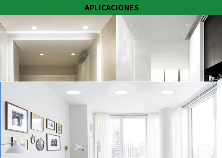 luz del panel led