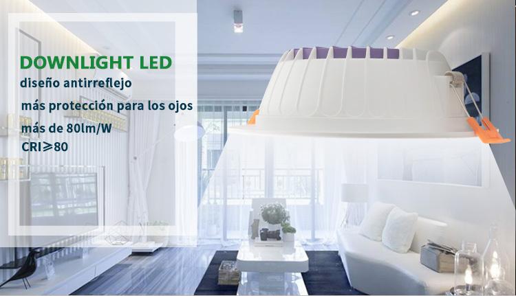 led downlight empotrado