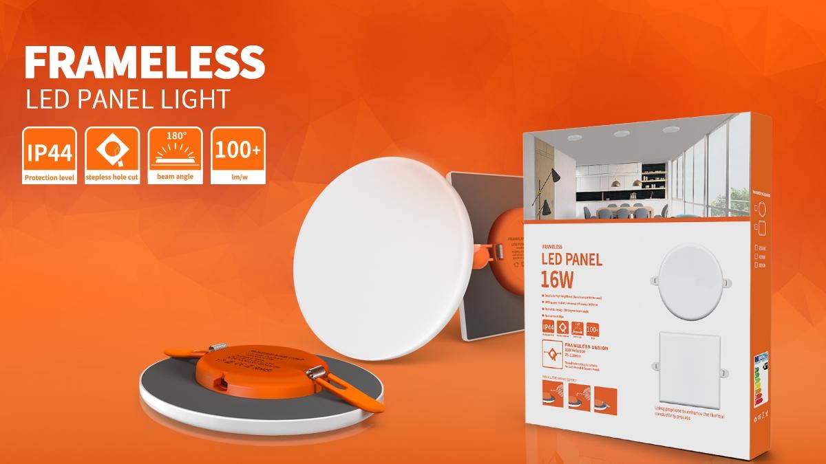 luz de panel sin marco led de fábrica COMI