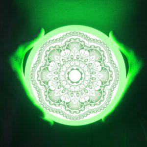 lámpara de panel led sin marco 9w 16w 24w 32w lámpara de aluminio PC doble redonda de 2700K 7000K TUV CB