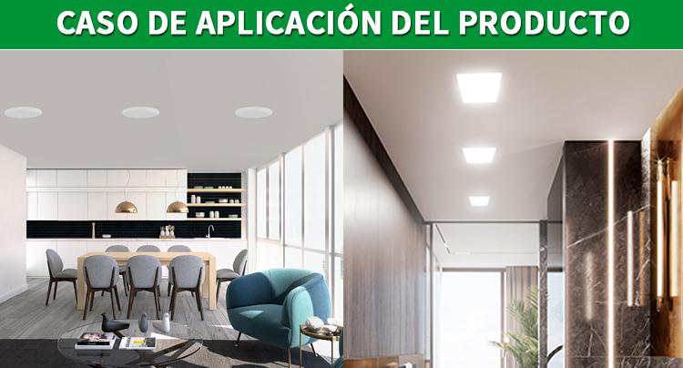 Panel de luz redondo led