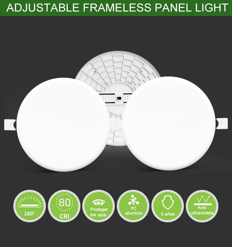 luz de panel inteligente led