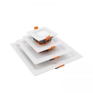 panel led integrado 18w Fábrica OEM ODM que enciende una lámpara empotrada de 18 vatios con chip ip44 smd