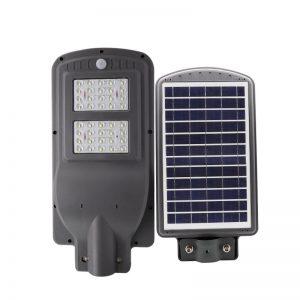 luz de calle solar al aire libre