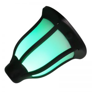 luz led solar de energía verde