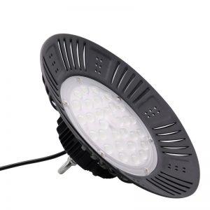 100w led alta luz de la bahía Fábrica industrial de iluminación ufo lámpara IP65 11000lm pf> 0.95