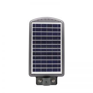 luz de calle solar led 40 vatios integran alta energía de energía lumínica, todo en una lámpara de sensor de movimiento inteligente inteligente ip65 ip66