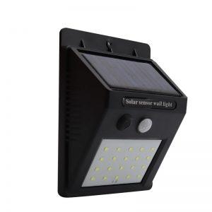 luz de la pared del sensor solar ip65