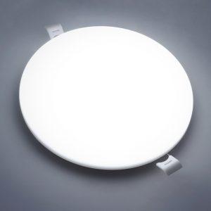 panel de luz led 18w superficie montada empotrada precio al por mayor 18 vatios redondo sin techo lámpara de techo soporte CCT ajustable