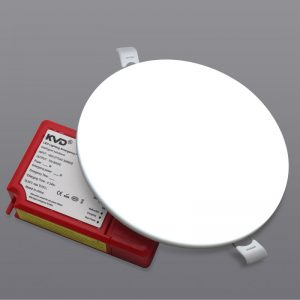 led sin marco ODM de aluminio integrado dimmable del OEM de la lámpara de la PC de la luz del panel de techo de la emergencia de 18w ip54