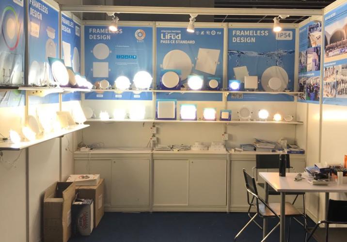 KEOU panel de luz led proveedor- HKTDC Hong Kong Feria Internacional de Iluminación