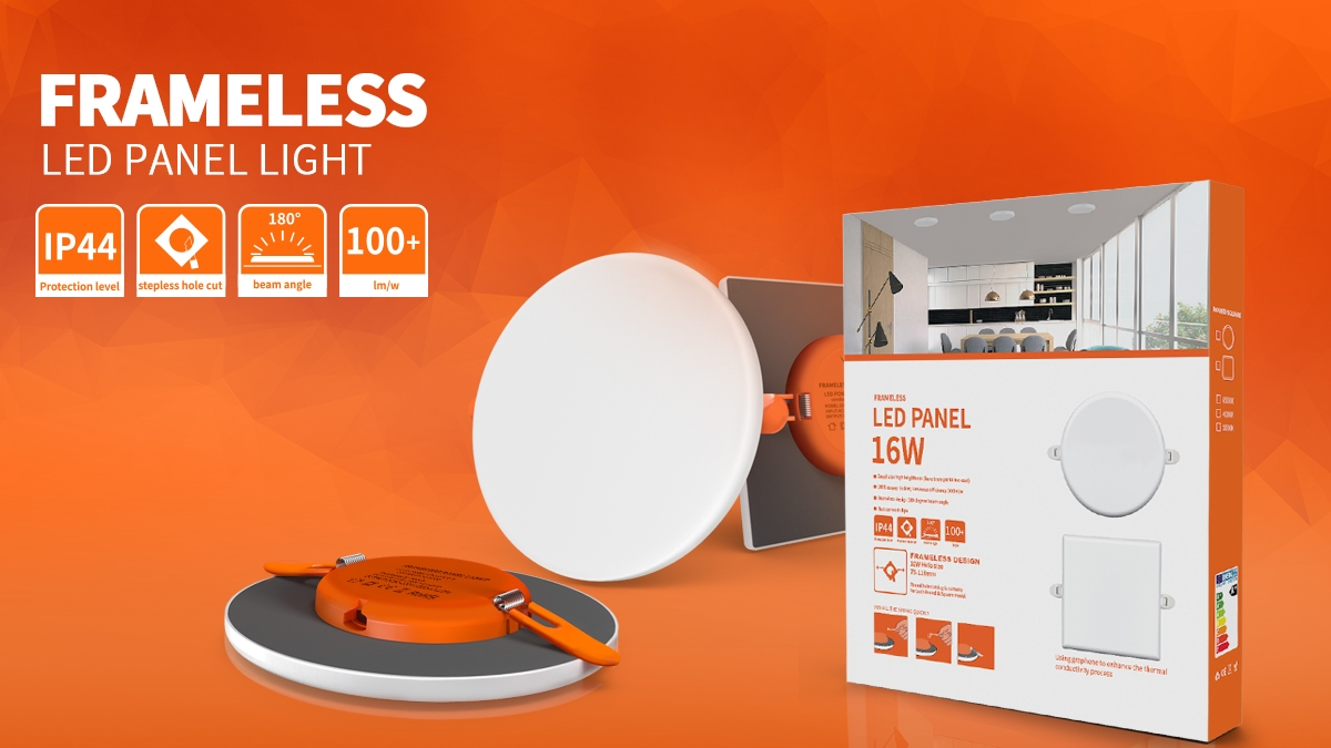 COMI Marca lanzó nuevo panel de luz LED sin marco