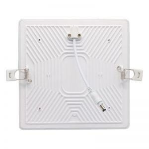 luz de techo cuadrada led 24w blanco cálido no llevó ninguna lámpara del panel del marco con PC de aluminio