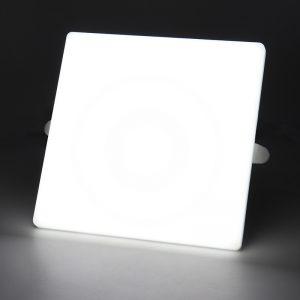 proveedor de downlight led COMI Marca 16W 24W 32W cuadrado sin marco empotrado sin marco luz de panel