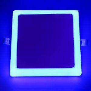 panel de luz led bicolor