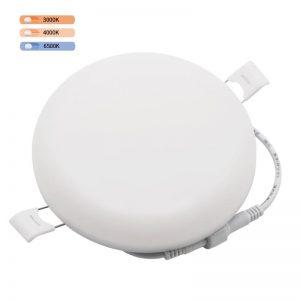 panel de luz redondo sin marco led Lámpara de techo inteligente regulable 36W 3d con driver LIFUD