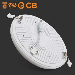 lámpara led sin marco 36w regulable blanco frío frío empotrado downlight ip54 luz del panel de techo