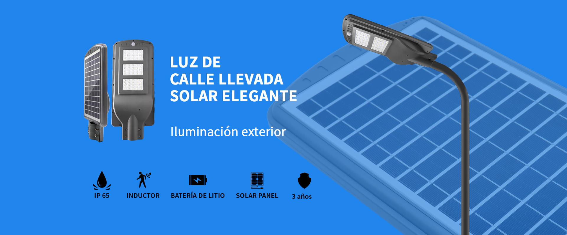 Fábrica de farola led solar