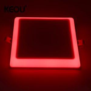 panel led de doble color