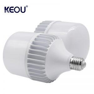 e27 bombilla led 18W 28W 48W 38W Lámpara de forma de T de gran columna PC Aluminio B22 Luz LED