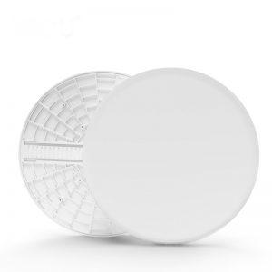 luz de panel inteligente led Nueva lámpara empotrada sin marco de 18W con tamaño de agujero ajustable blanco cálido
